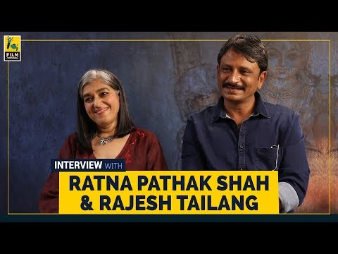 Ratna Pathak Shah & Rajesh Tailang Interview | Selection Day | Netflix | Film Companion