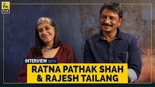 Ratna Pathak Shah & Rajesh Tailang Interview   Selection Day   Netflix   Film Companion