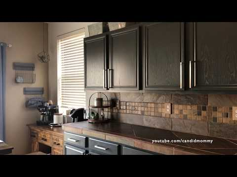 Kitchen Cabinet Refacing | Before, The Process & After