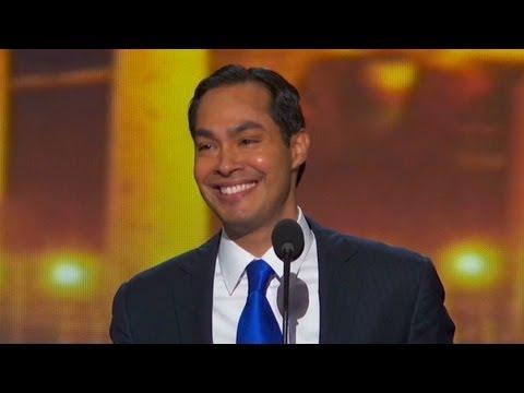 Raw Video: Julian Castros keynote address to the DNC