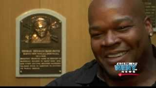 """The Big Hurt"" Frank Thomas Talks Making 2014 Baseball Hall of Fame Class"