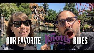 BEST Knotts Berry Farm Rides For Disneyland Fans