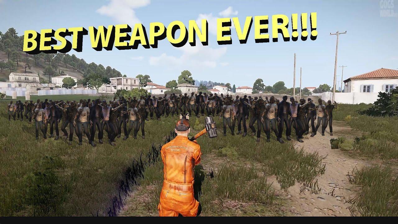 Best Arma 3 Dayz Mod 2020 Nibz plays Arma 3: DayZ Exile, the best weapon ever!!!   YouTube