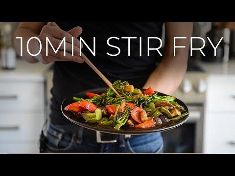 FAST VEGETABLE STIR FRY | EASY CHINESE VEGGIES RECIPE