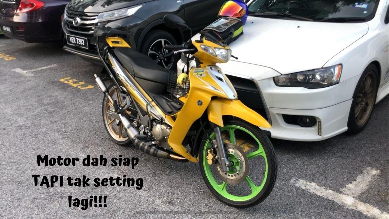 Yamaha 125ZR - Motor dah siap jom running-in