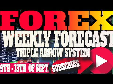 Weekly Forex Analysis 2019 - Market Analysis 9th - 13th Sep -TRIPLE ARROW SYSTEM 2019 - FX Forecast