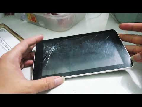 Cara Ganti Touch screen (Layar Hp pecah) tablet