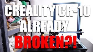 Creality CR-10 Update -- Adventures in 3D Printer Repair