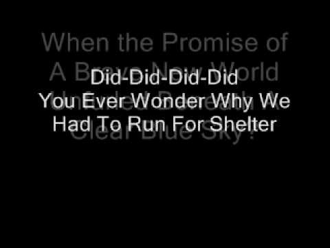 Pink Floyd-Goodbye Blue Sky (Lyrics)