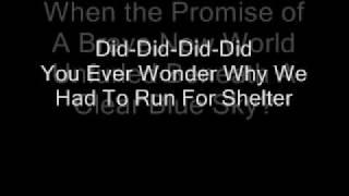 Pink Floyd-Goodbye Blue Sky (Lyrics)