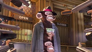 Dreamworks Madagascar | Caught in Grand Central Station - Movie Clip | Madagascar | Kids Movies
