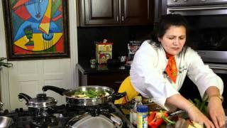 JAEL TANTI Maitake Musroom Stir Fry-