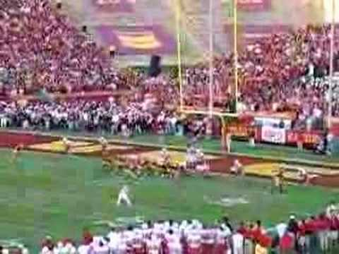 Steve Smith USC Touchdown vs. Nebraska