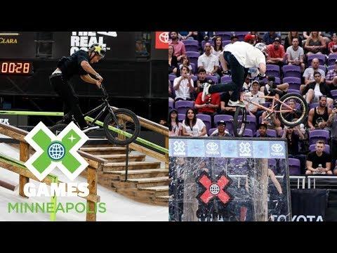 BMX Street Final & Dave Mirra's BMX Park Best Trick: FULL BROADCAST | X Games Minneapolis 2018
