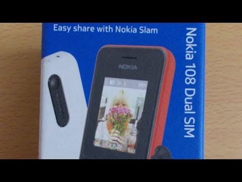 Nokia 108 Dual Sim Phone - Unboxing & Quicklook