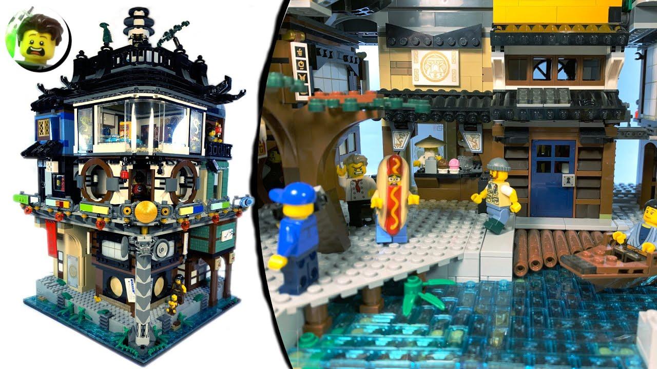 LEGO Ninjago City Plaza - YouTube