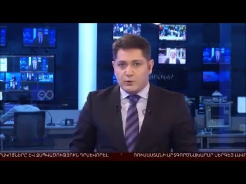 Armenia TV about Monte Melkonian Cyber Army attack on azeri govs/media sites