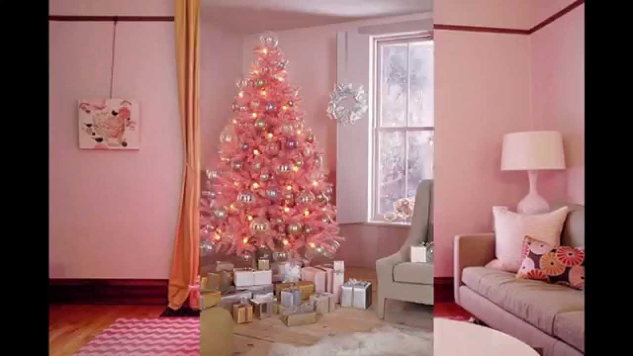 Pink Christmas Tree Decorations