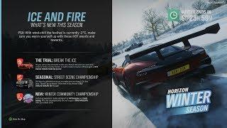 Forza Horizon 4 - Winter Season Change (February 21) [4K]