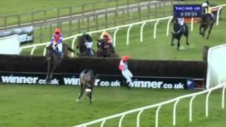 Lewis Ferguson bails horse at Wincanton races