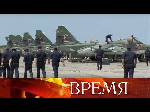 Экипажи штурмовиков Су-25