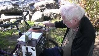 radio station in 3 wheel bike ham cw morse code
