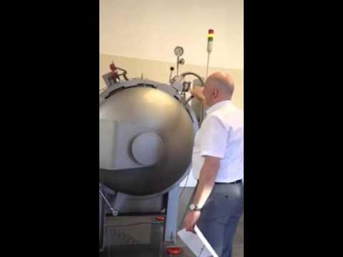 Аттестация взрывной камеры в лабораторном комплексе СЕРКОНС