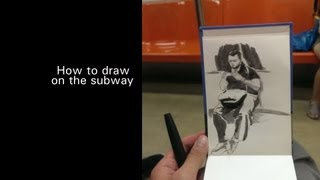 Sunday 09/15/2013 Drawing on the SMRT in Singapore @ 11:00pm