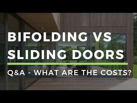 DWL - Q&A - What is the price difference bi-folding vs sliding doors?