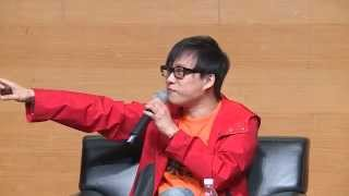香港書展2015:林夕•詞海任我行