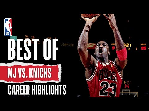 Jordan's BEST Vs. Knicks | The Jordan Vault