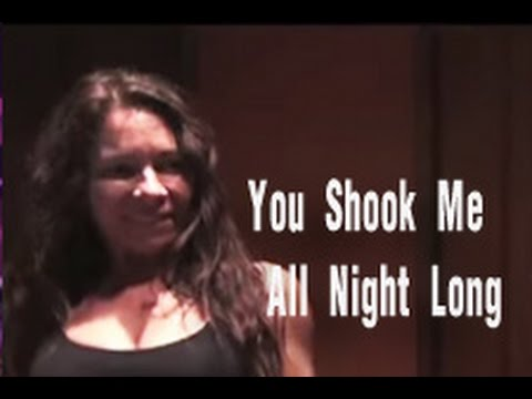 You shook me all night long lyrics led zeppelin