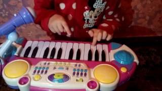Обзор на пианино синтезатор 7235