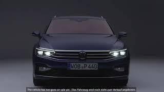 The new Volkswagen Passat World premiere  Der neue Volkswagen Passat Weltpremiere