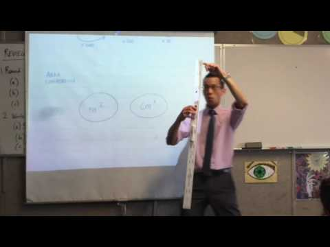 Metric Units of Measurement (3 of 3: Converting between lengths and areas)