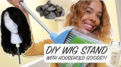 DIY Wig Stand with household goods??!! | How to