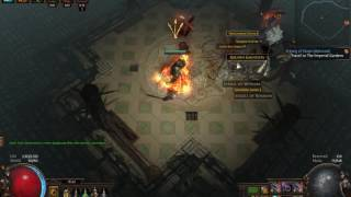 Path Of Exile 3.0 - Stunning Sunder Uber Lab Kill!
