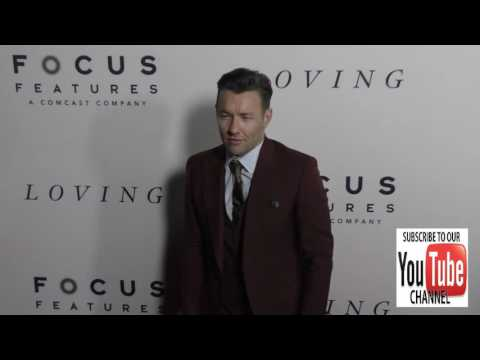 Joel Edgerton at the Premiere Of Focus Features' Loving at Samuel Goldwyn Theater in Beverly Hills