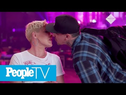 How Pink And Her Husband Parent Their Two Kids  PeopleTV  Entertainment Weekly