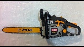 Обзор бензопилы Ryobi RCS-4046C