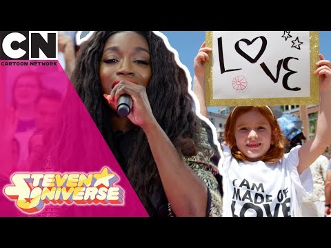 Steven Universe | Stronger Than You (Live At San Diego Comic-Con) | Cartoon Network