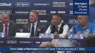 Watch the Lee Selby vs. Josh Warrington press conference - …