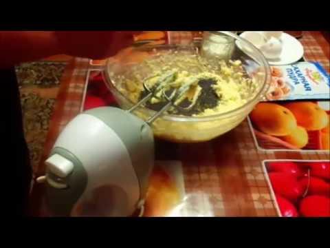 Рецепт Лимонный кекс с маком.Простой рецептLemon cupcake with makom.Prostoy recipe