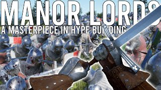 MANOR LORDS - A Masterpiece In HYPE Building