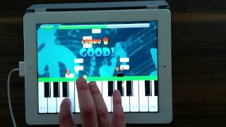 "Learn to play ""The blue Danube"" (Strauss) with Piano Master - tutorial for iPhone Android iPad HD"