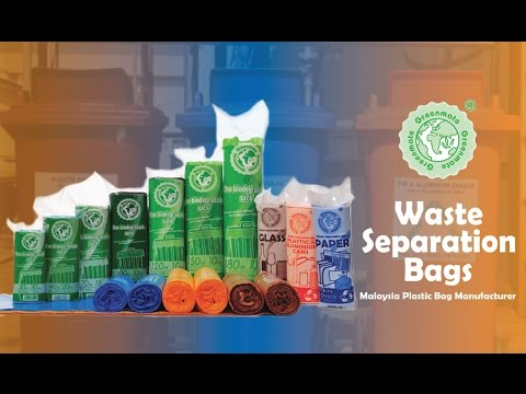 Malaysia Waste Separation Bags / Garbage Bags & Plastic Bags Supplies / Manufacturer