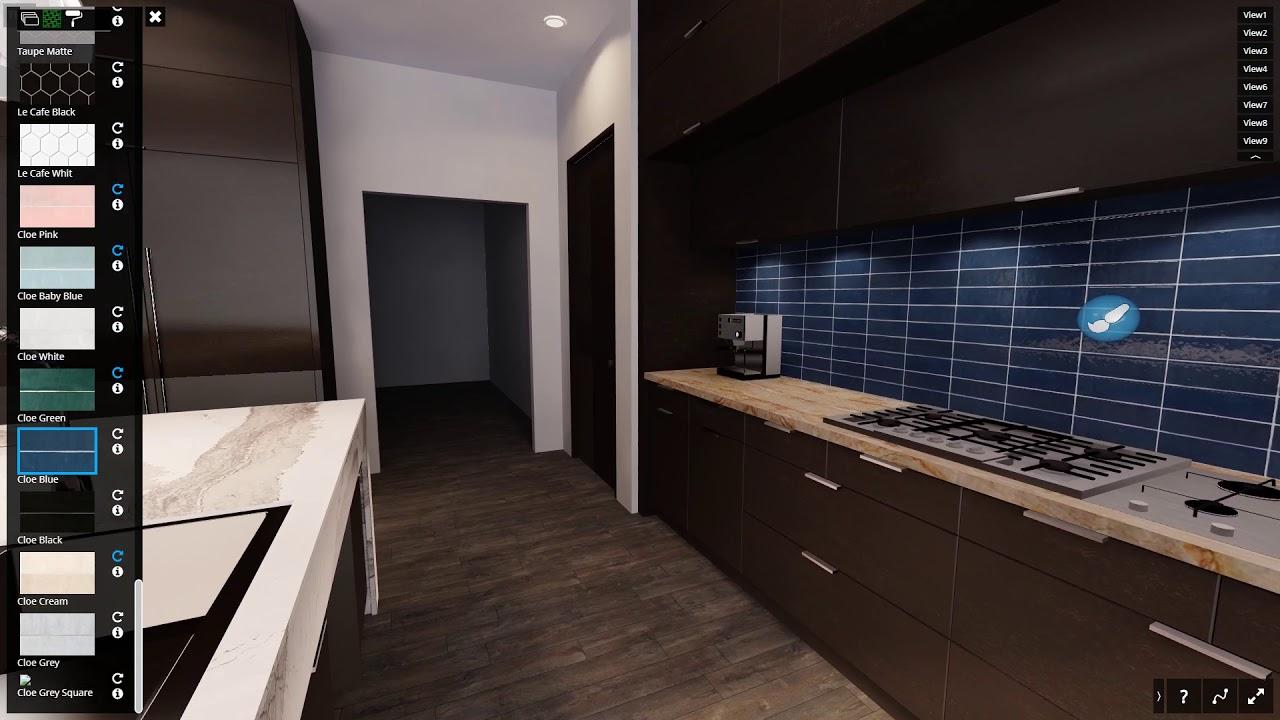 Kitchen Visualizer Backsplash Tiles