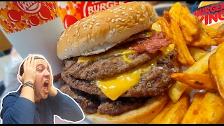 ¿#KemeKomo? | Probando recetas secretas de Burger King: La #KingSuicida | Dryan Eats #MenuHack