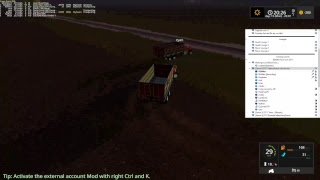 RDAllen Live Stream Multiplayer Farming Simulator 17 Parker's Prairie Derby Simulator 06 15 17