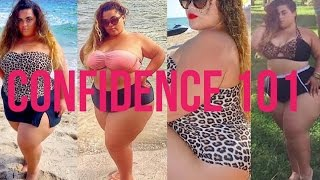 HOW TO BE CONFIDENT WHEN PLUS SIZE| COFFEE TABLE TALK EP 1 | GABRIELLAGLAMOUR